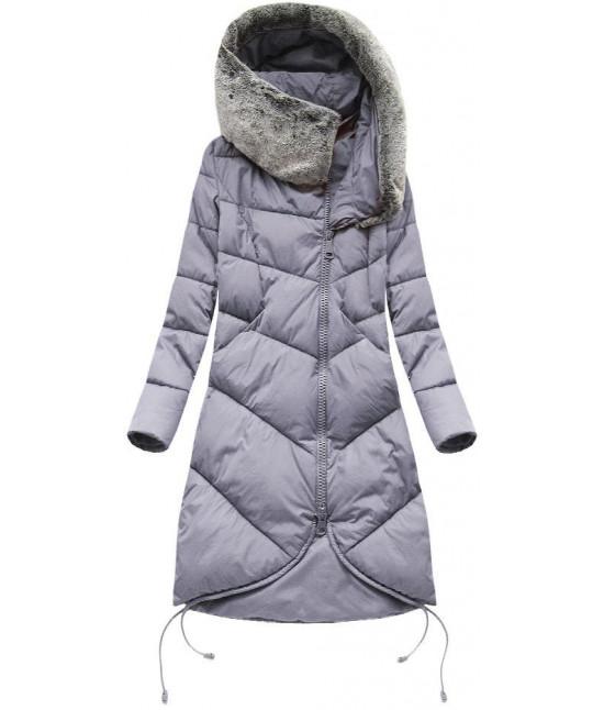 Dámska zimná bunda MODA002 fialová