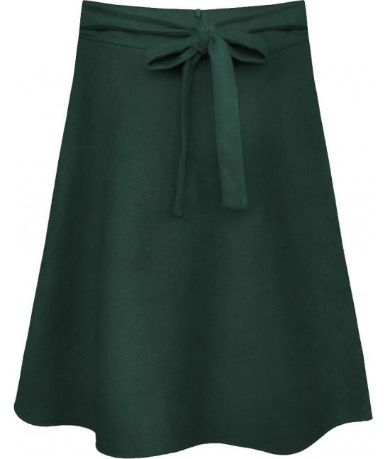 Dámska sukňa MODA537 zelená