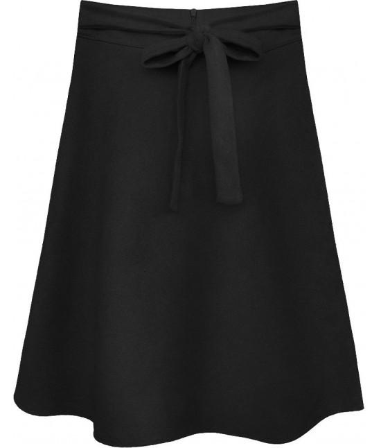 Dámska sukňa MODA537 čierna