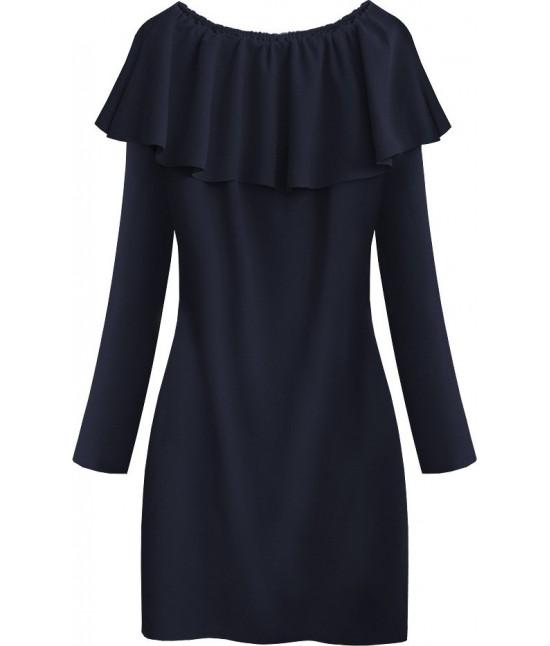 Dámska šaty MODA540 tmavomodré