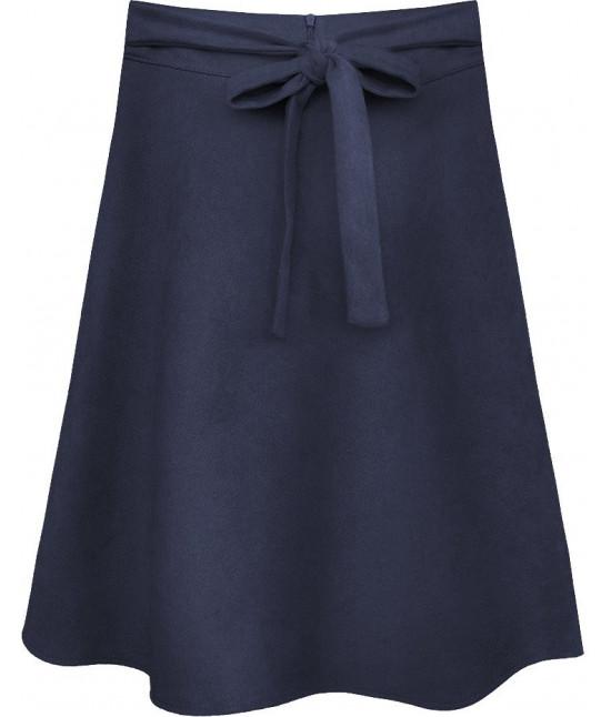 Dámska sukňa MODA537 modrá