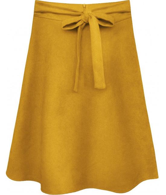 Dámska sukňa MODA537 žltá
