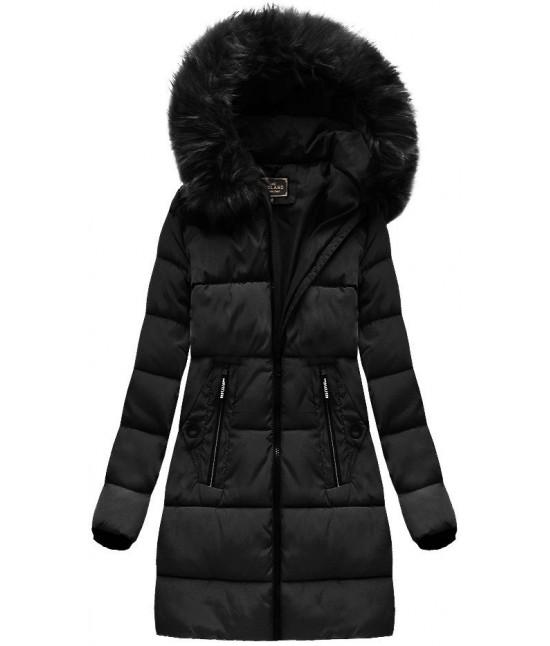 Dámska zimná bunda MODA7756 čierna veľkosť XXL