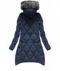 Dámska zimná bunda 6788 modrá - Dámske oblečenie  7e9ac49ffbd