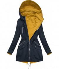 damska-obojstranna-jarna-bunda-moda306-tmavomodro-zlta