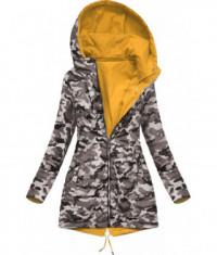 damska-obojstranna-jarna-bunda-moda306-zlto-maskacova