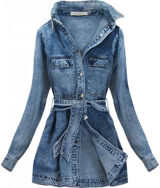 Dámska jeansová bunda MODA131