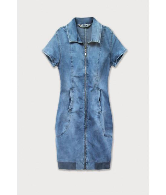 Dámske jeansové šaty MODA036
