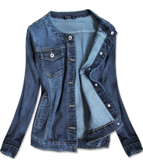 Dámska jeansová bunda MODA012