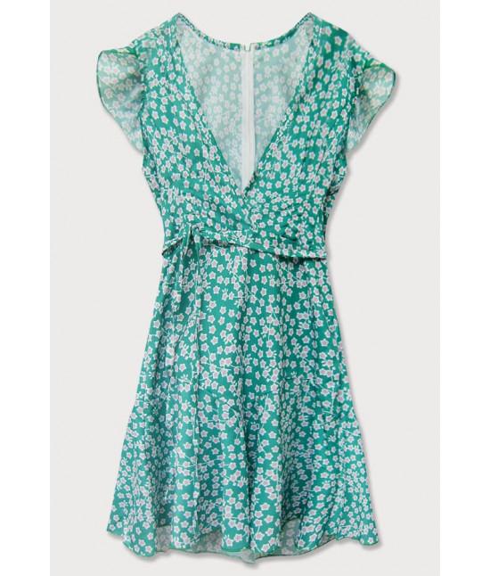 Dámske letné šaty MODA601 zelené