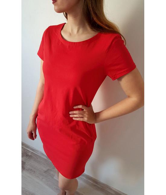 Dámske letné šaty MODA314 červené
