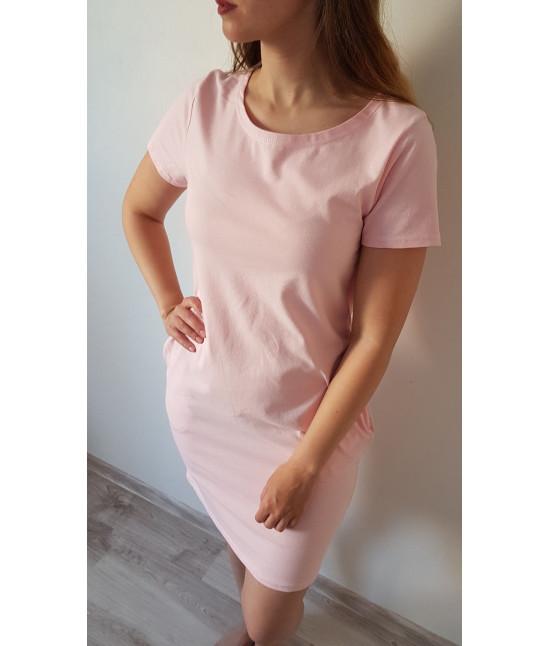 Dámske letné šaty MODA314 ružové