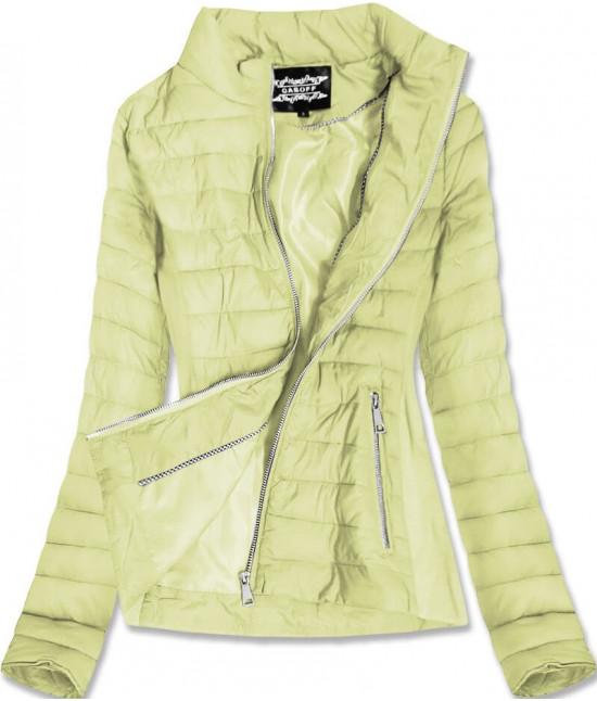 Dámska jarná bunda MODA9801BIG žltá