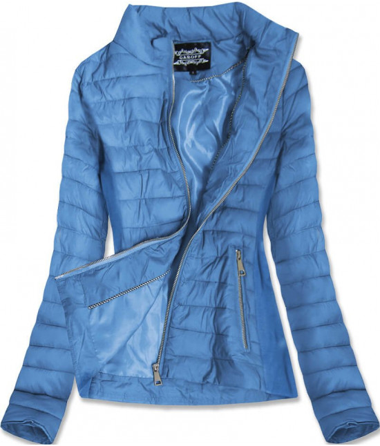 Dámska jarná bunda MODA9801 modrá