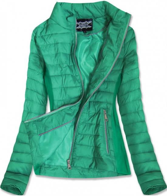 Dámska jarná bunda MODA9801 zelená
