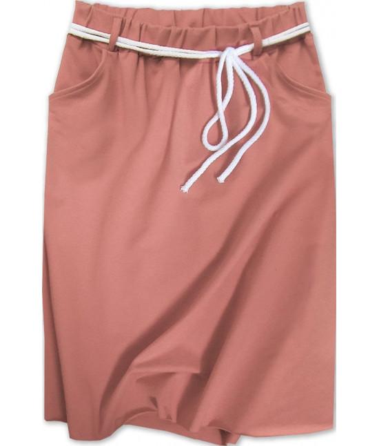 Dámska tepláková sukňa MODA592 ružová