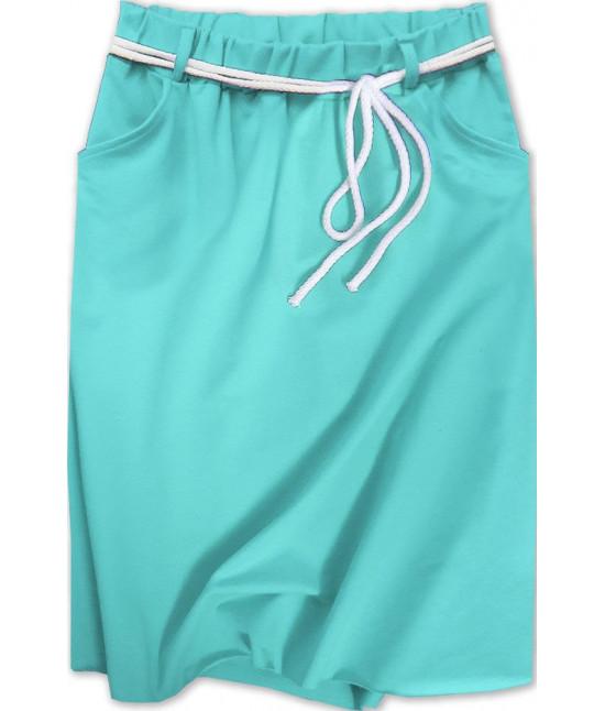 Dámska tepláková sukňa MODA592 modrá