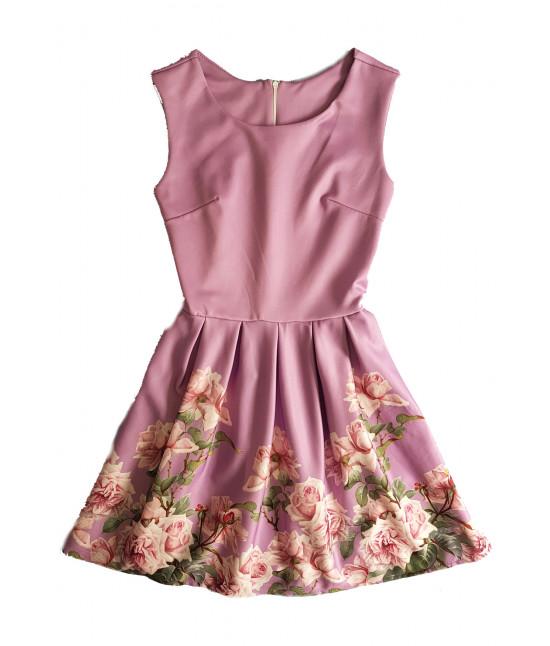 Dámske letné šaty MODA699 fialové