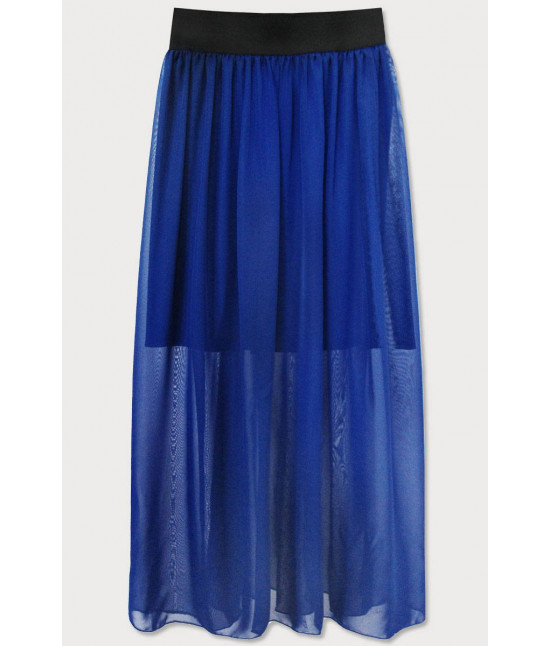 Dámska Maxi sukňa MODA596 modrá