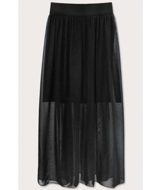 Dámska Maxi sukňa MODA596 čierna