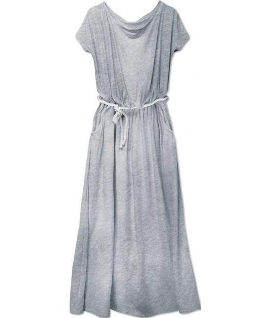 Voľné dámske šaty MODA593 šedé