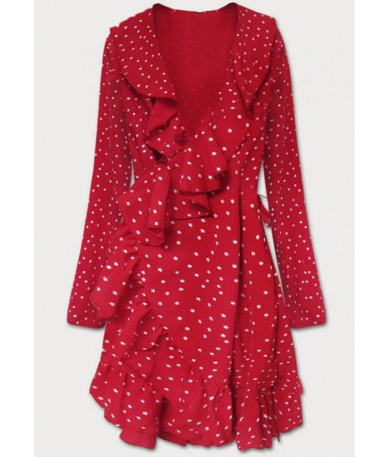 Dámske šaty MODA607 červené