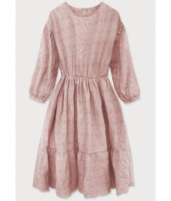 Dámske šaty MODA615 staroružové