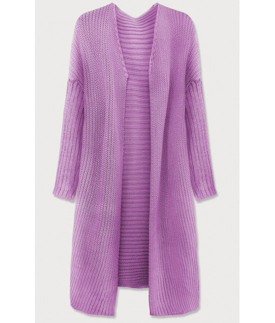 Dámsky sveter kardigan MODA614 fialový