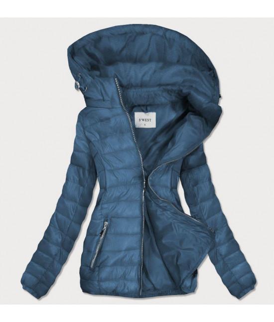 Dámska prechodná bunda MODA106 modrá