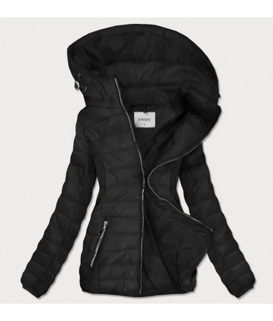 Dámska prechodná bunda MODA106 čierna