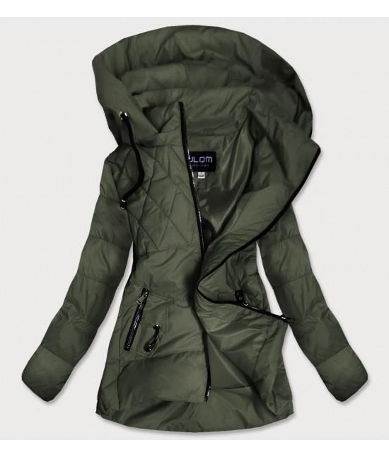 Dámska jesenná bunda MODA905 khaki