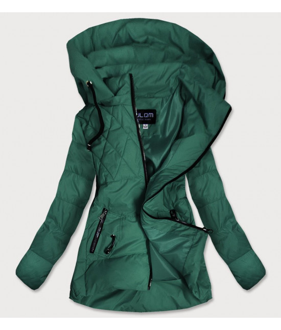 Dámska jesenná bunda MODA905 zelená