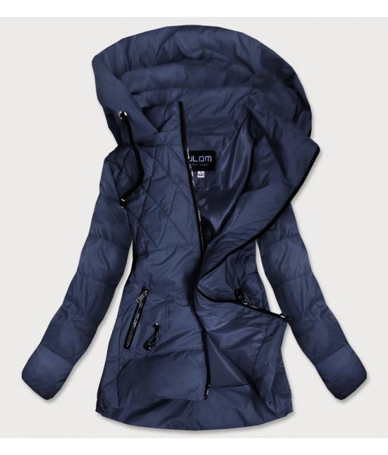 Dámska jesenná bunda MODA905 tmavomodrá