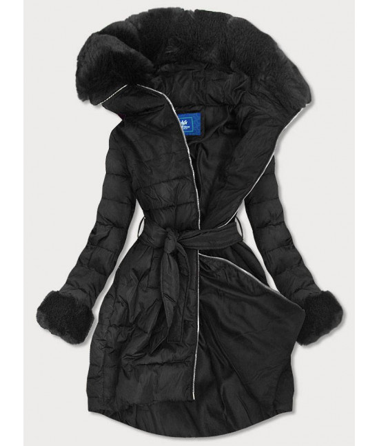 Dámska zimná bunda MODA006 čierna