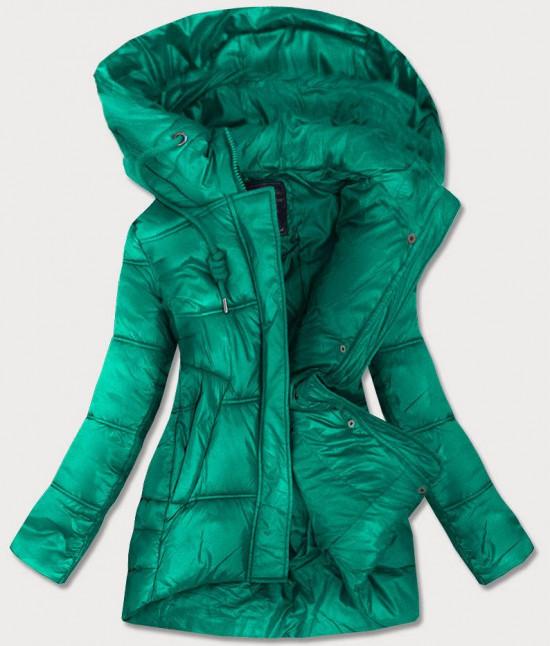 Dámska prechodná bunda MODA658BIG zelená