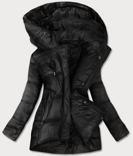 Dámska prechodná bunda MODA658BIG čierna