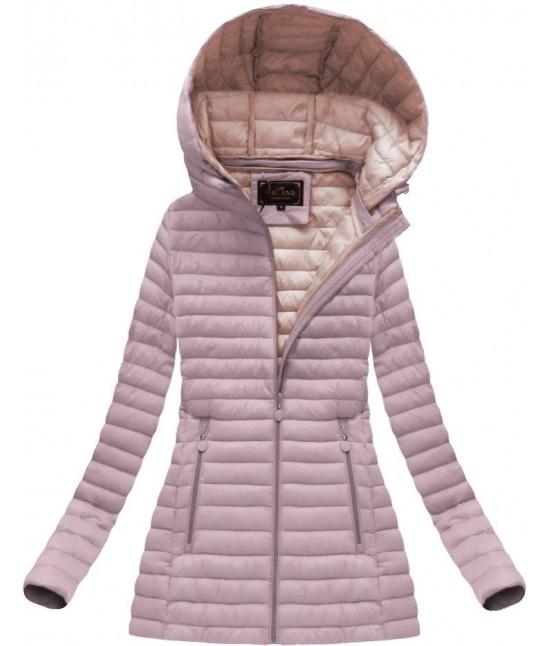Dámska prechodná bunda ružová 7218BIG - Dámske oblečenie  1edb538781