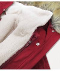 damska-zimna-bunda-parka-moda998-bordova