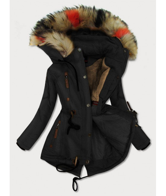 Dámska zimná bunda MODA208 čierna