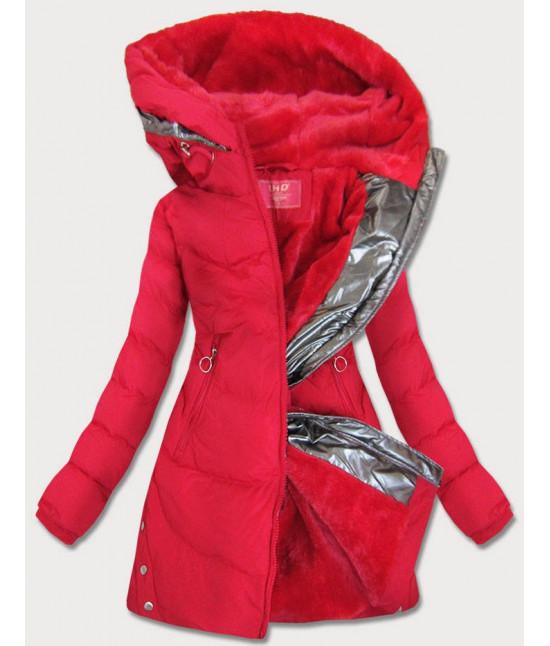 Dámska vode-odolná zimná bunda MODA231 červená L