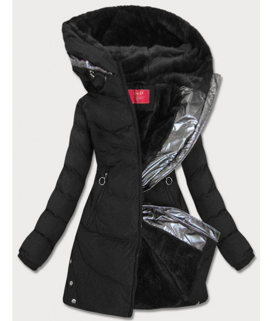 Dámska vode-odolná zimná bunda MODA231 čierna veľkosť S