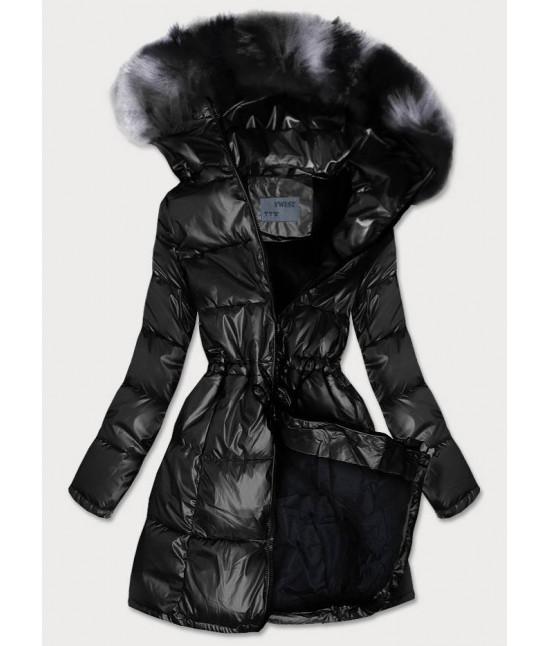 Dámska zimná bunda MODA9528 čierna