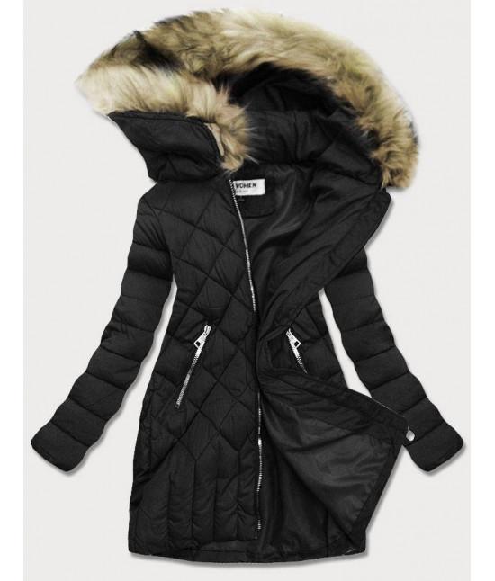 Dámska zimná bunda MODAF808 čierna