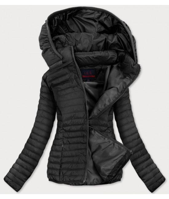 Dámska jarná bunda MODA11-2BIG čierna