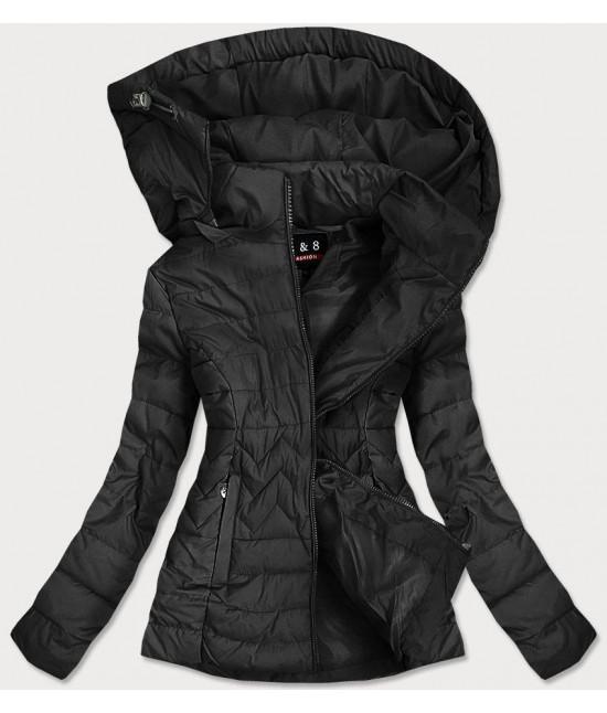 Dámska prešívaná bunda MODA938 čierna