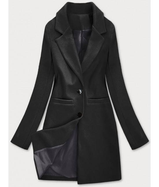 Klasický dámsky kabát MODA533 čierny