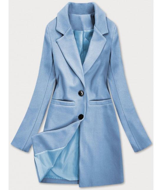 Klasický dámsky kabát MODA533 modrý