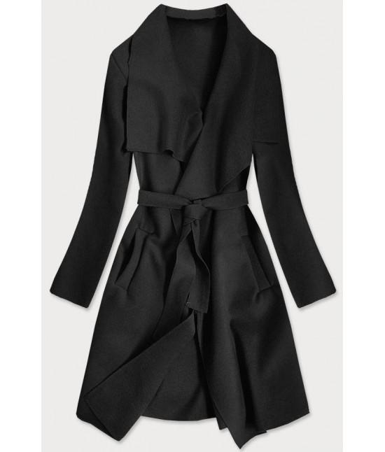 Dámsky kabát MODA678 čierny