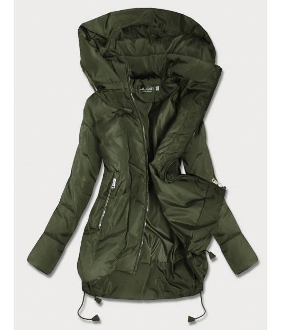 Dámska jesenná bunda MODA959 khaki veľkosť M