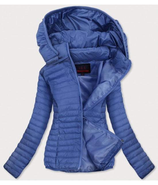 Dámska jarná bunda MODA11-1 modrá veľkosť L